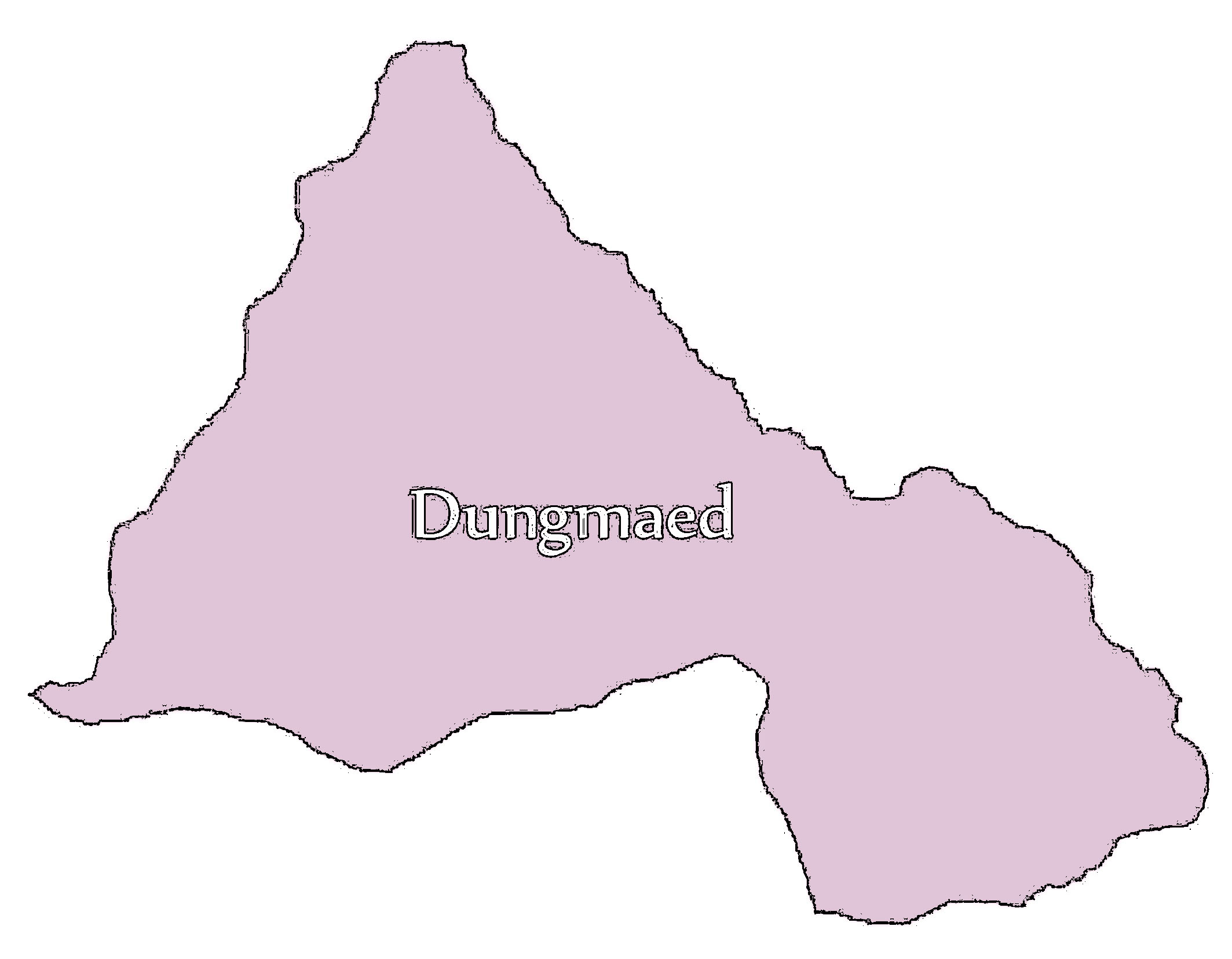 Dungmaed Gewog Map